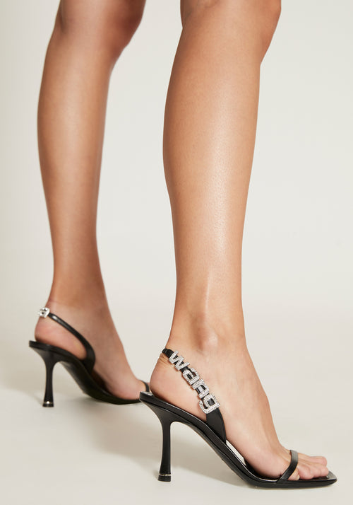 Ivy 85 Capretto Heel Black