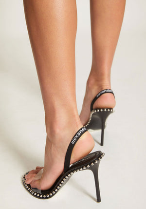 Nova High Heel Sandal Black