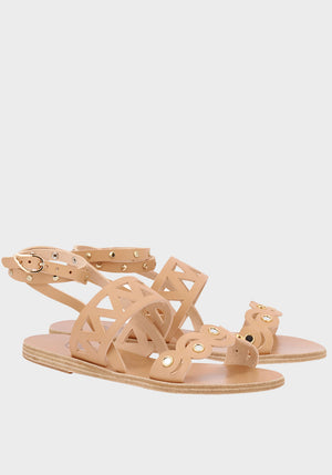 Ostria Mirror Sandals Natural