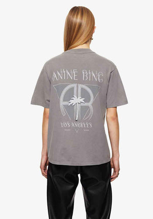 Ida Tee Palm Washed Grey