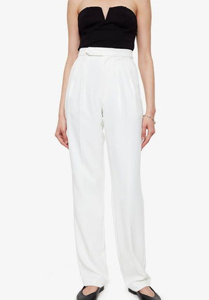 James Trouser AB X HC White
