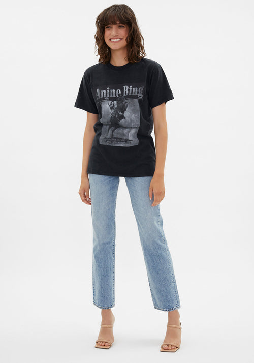 Lili Wild And Free T-Shirt Washed Black