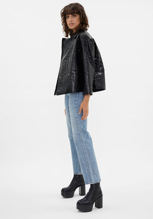 Liza Jacket Black Crocco