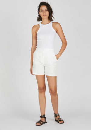 Mila Short White