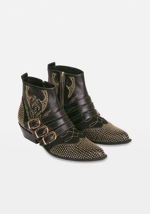 Penny Boots Black