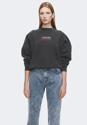 Ramona Sweatshirt Link Washed Black
