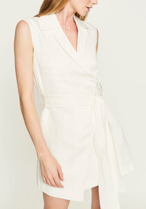 Anouk Tailored Wrap Dress