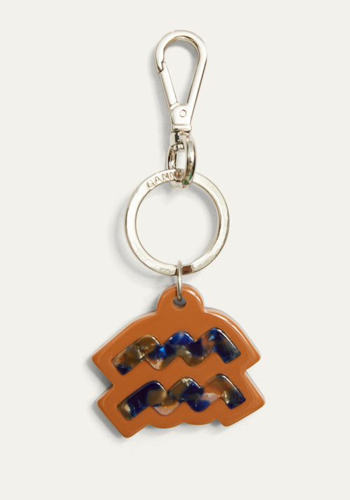 Aquarius Keyring