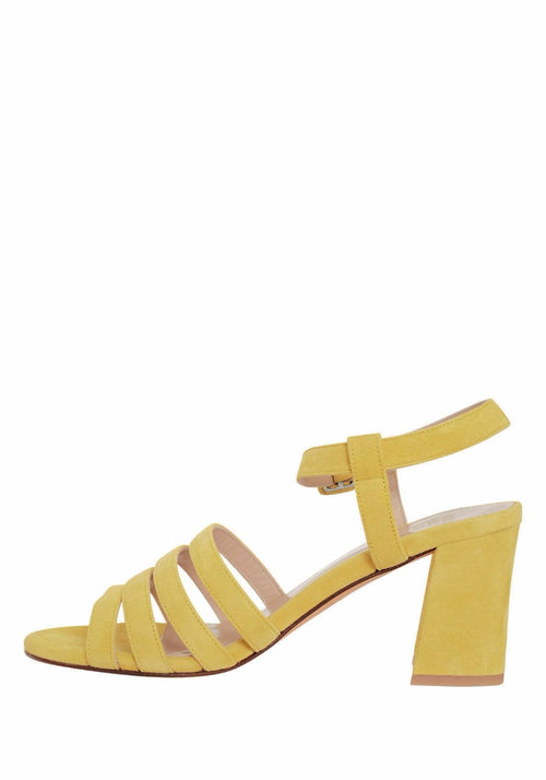 PALMA SANDAL HIGH YELLOW