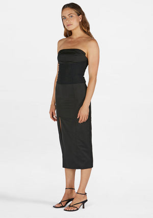 Agyness Dress Black