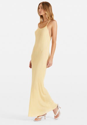 Exclusive | Nour Dress Yellow