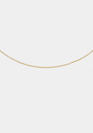 Chance Chain 42cm Yellow Gold