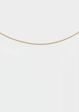 Cult Chain 42cm Yellow Gold