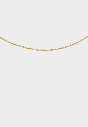Cult Chain 50cm Yellow Gold