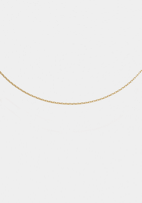 Forever Chain 40cm Yellow Gold