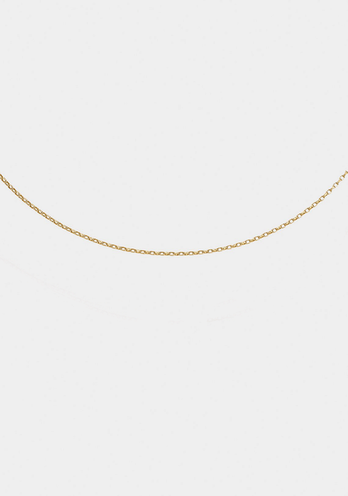 Forever Chain 50cm Yellow Gold
