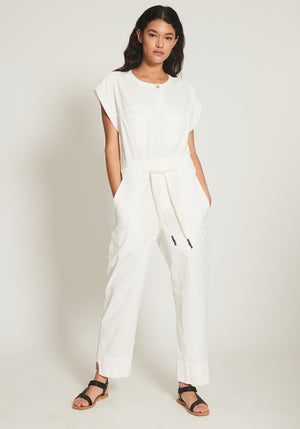 Canvas Jumpsuit Natural