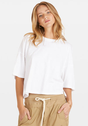 Heritage Boxy Short Sleeve T-Shirt White
