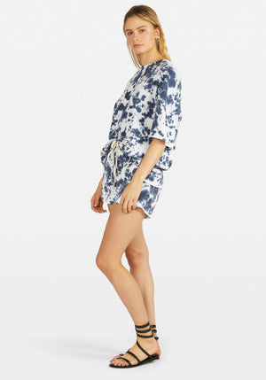 Motley Double Jersey Beach Short Navy