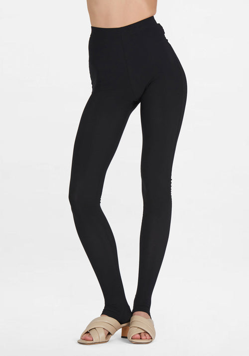 Over Foot Tights Black
