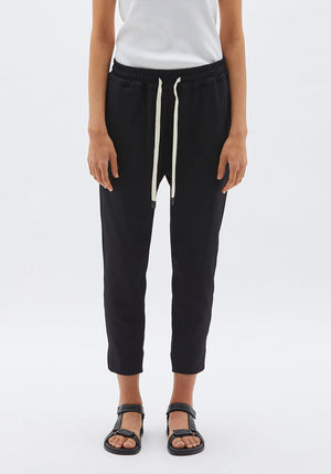 Stretch Twill Tapered Pant Black