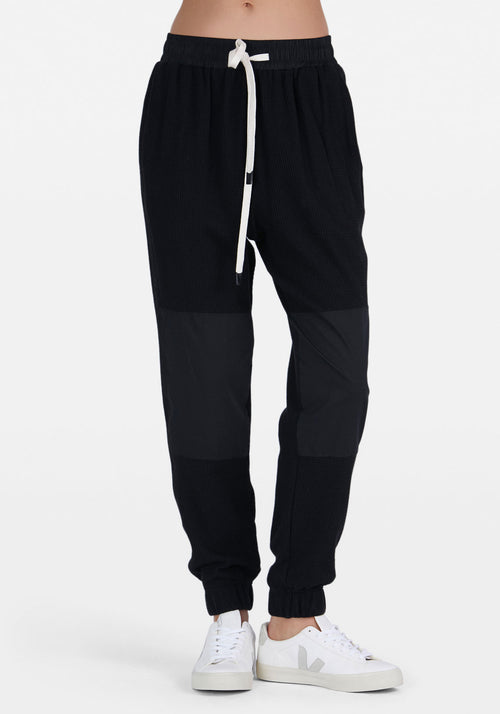 Waffle Contrast Detail Trackpant