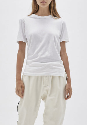Wide Heritage Slim Short Sleeve T-Shirt White