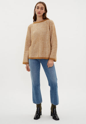 Cass Sweater Golden Spice Melange