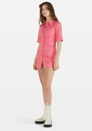 Abera Dress Honeysuckle Pink