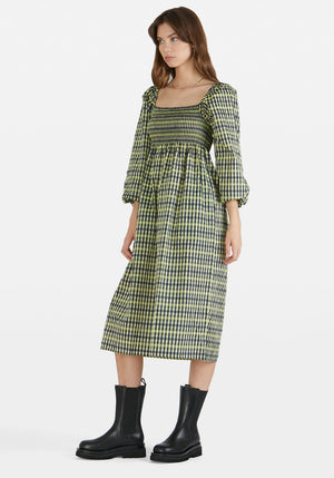 Aquina Dress Limelight Check