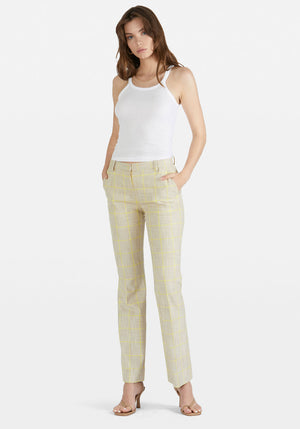 Noima Pant Rio Yellow Check
