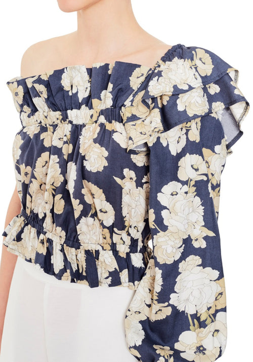 Bellagio One Shoulder Top