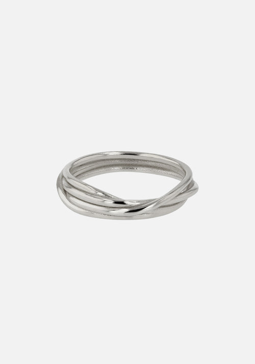 Bound Ring Silver