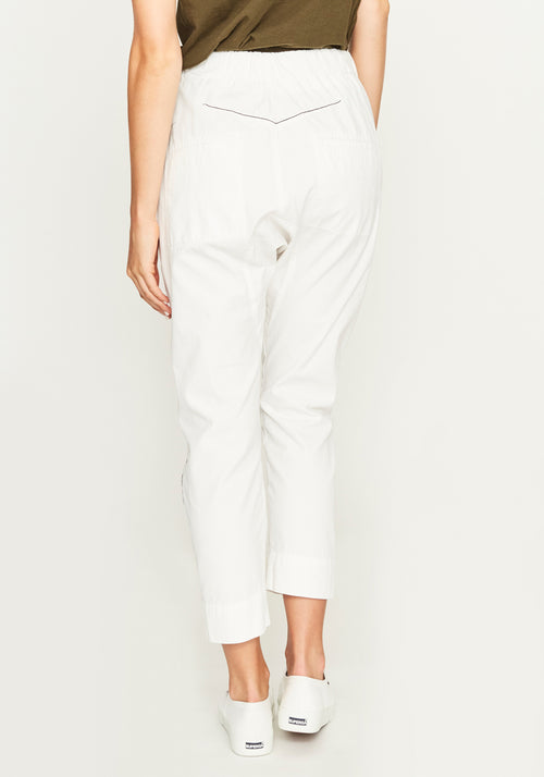 CANVAS SD DETAIL RELAXED PANT NATURAL