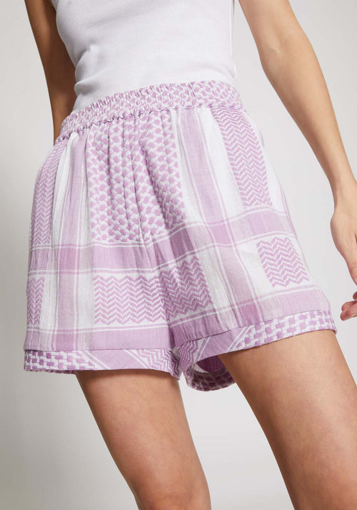 Basic Shorts Purple - Tuchuzy