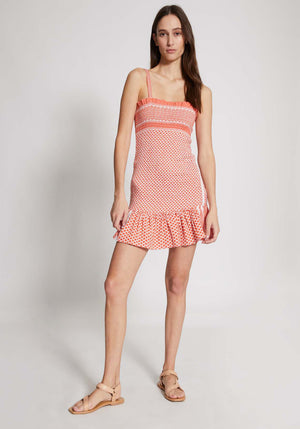 Judith Dress Coral