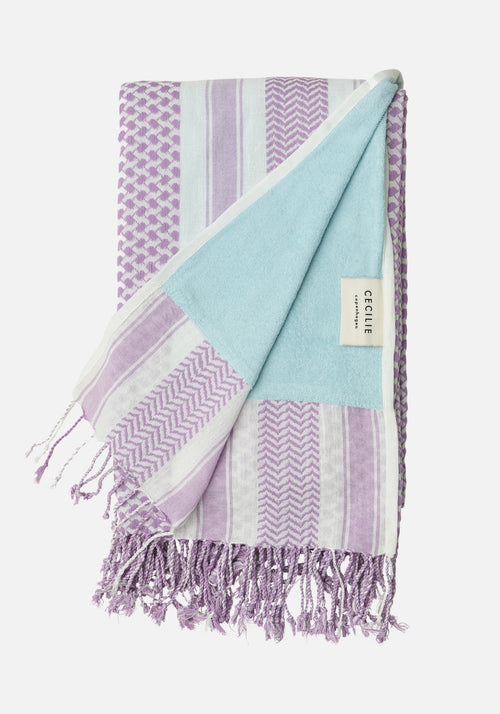 Tina Turkish Towel Purple