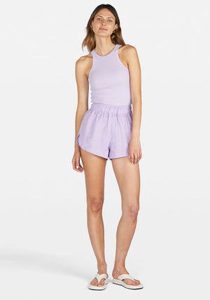 Andy Runner Short Lilac