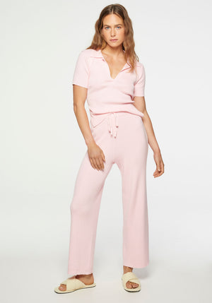 Annie Knit Pant Pink
