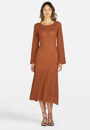 Bella Maxi Dress Rust