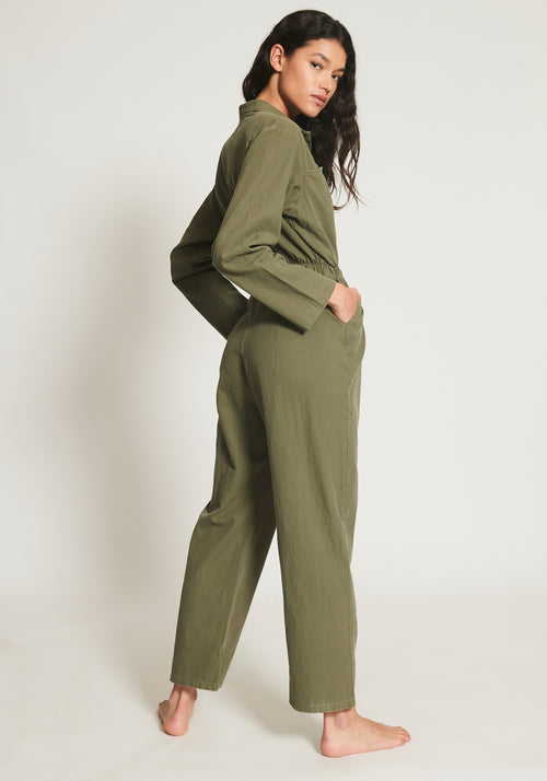 Belle Long Boiler Khaki