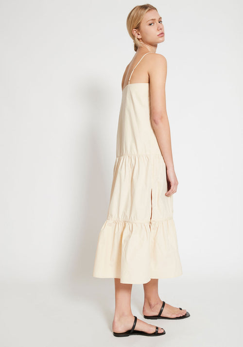 Citadelle Tiered Maxi Dress Creme