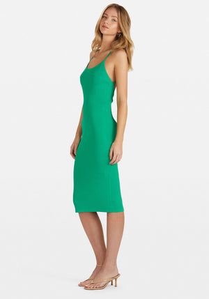 Louie Dress Green