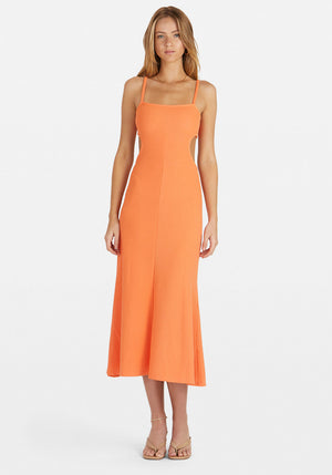 Luna Dress Pop Orange