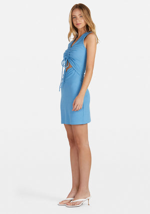 Penny Rouched Mini Dress Marina