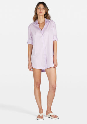 Solly Shirt Dress Lilac