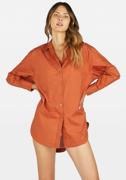 Solly Shirt Teracotta