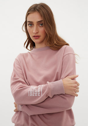 The Chosen Sweatshirt Light Pink