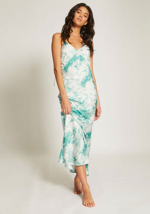 Torrent Tie Dye Bias Dress