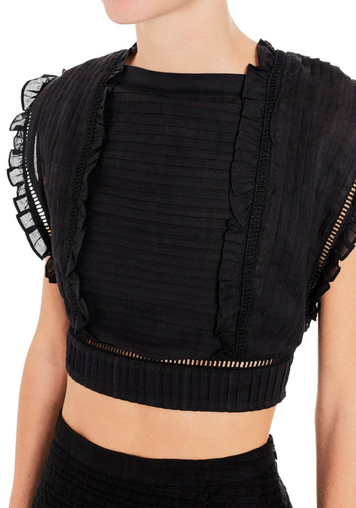 Ciel Top With Laced Back